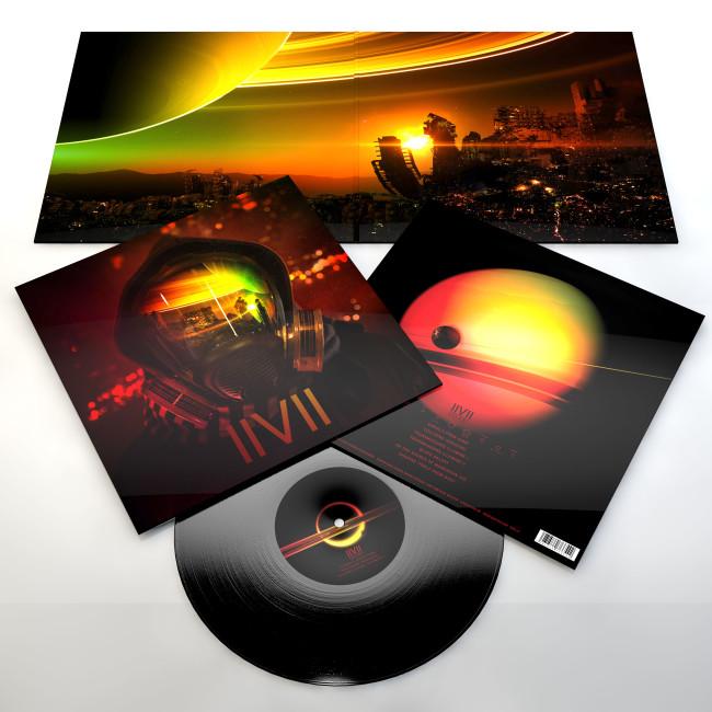 IIVII Colony black LP